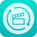 iConv: Video Converter - The MP4 MP3 VLC or any format movie music audio file converter and player icon