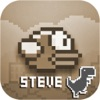 Steve - The Jumping Dinosaur Widget Game and Tappy Bird