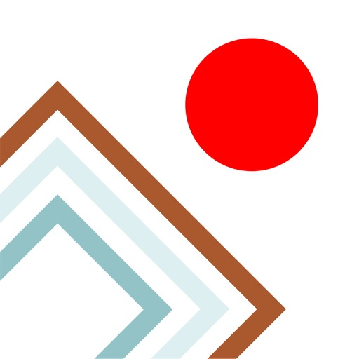 Shape Platform Red Ball Slide iOS App