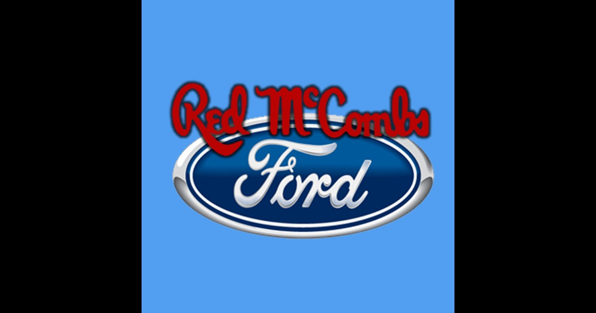 Red mccombs ford app store