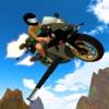 3D Flying Motorcycle Racing - Super Jet Bike Speed Simulator Game FREE