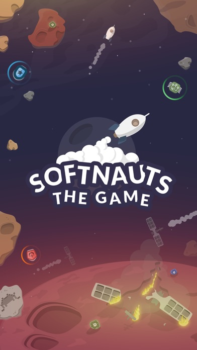 Softnauts - Space Endless Runner Screenshot