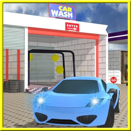 Service Station Car Wash 3D iOS App