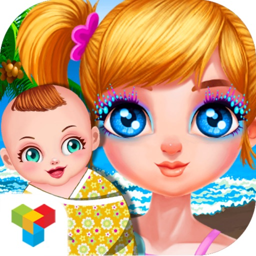 Colorful Princess Baby Resort - Mommy Pregnancy Check&Cute Infant Care iOS App