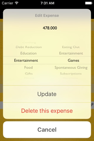 Monthly Expenses screenshot 4