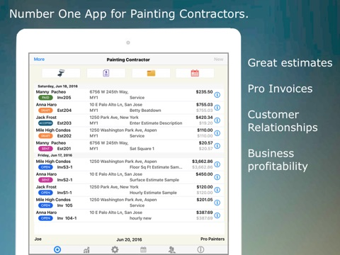 Painting Contractor Estimating And Invoicing Tool For Many Trades