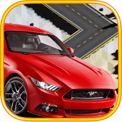Car Simulate Drive On Zig Highway Drift Road iOS App