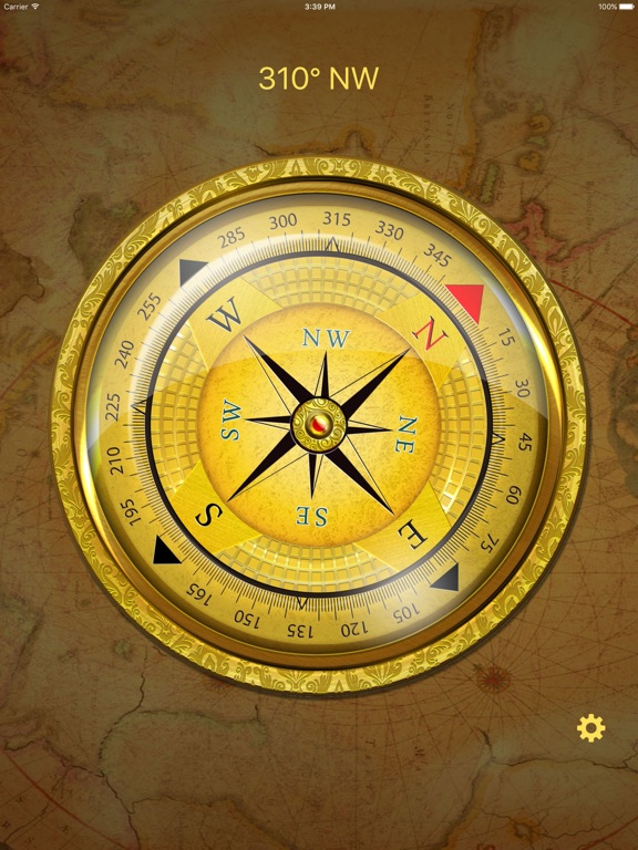 Screenshot #1 for Compass HD Pro