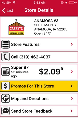 Casey's General Stores screenshot 4