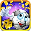 The Field Slot Machine: Be the luckiest virtual wager and hit the soccer jackpot icon