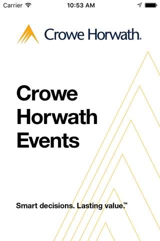 Crowe Horwath Events screenshot 1