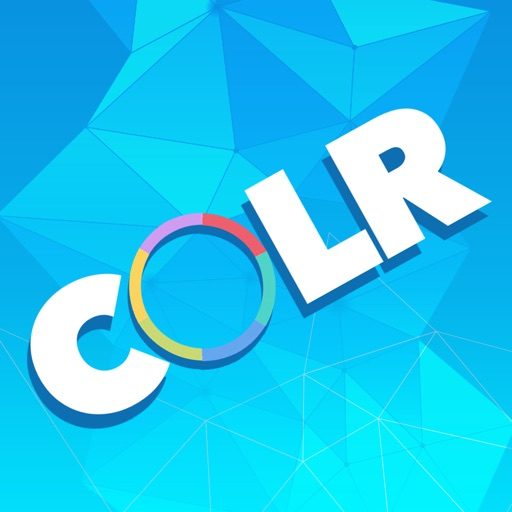 COLR -  A simple and addictive game about colors! iOS App