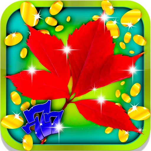 Green Plant Slot Machine: Join the virtual wagering and earn maple leaf bonuses iOS App