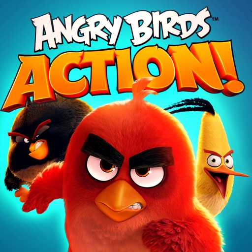 Download Angry Birds Action! free for iPhone, iPod and iPad