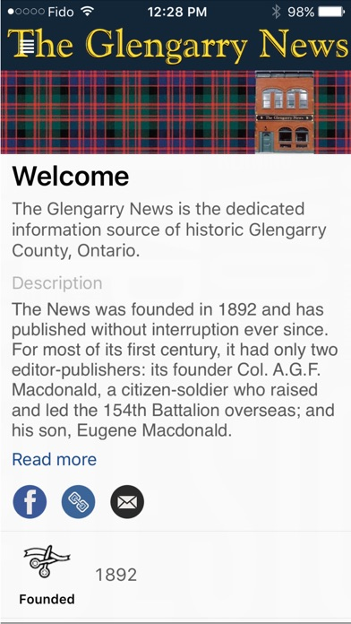 download The Glengarry News apps 2