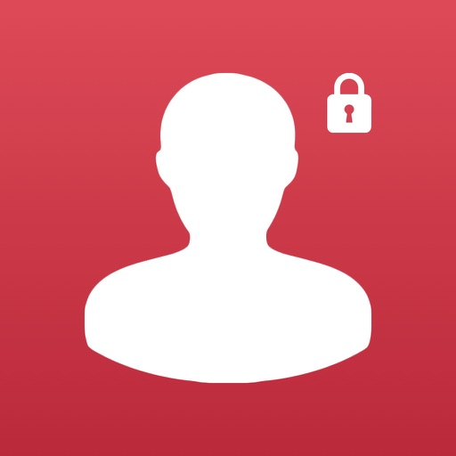 Social Lock - For Social Network & Online Dating ( RED ) version images