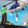 911救援直升機飛行模擬器 - 直升機飛行員飛行救援任務