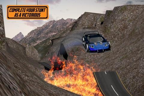Car Stunts Dangerous Roads screenshot 1