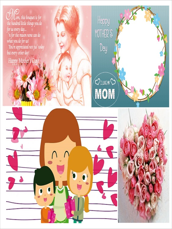 Mothers Day Photo Frames Greeting Cards Wallpaper Images Quotes For ...