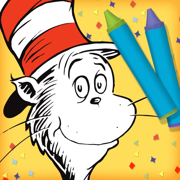 Dr Seusss The Cat In Hat Color Create On App Store