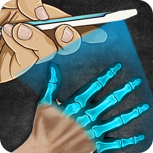 Laser X Ray Pointer Prank iOS App