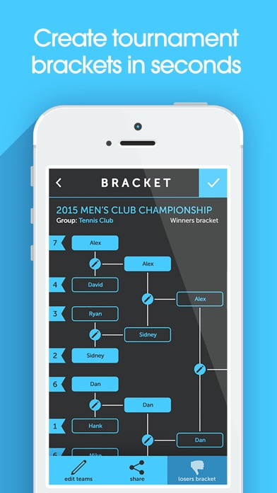 My Bracket + Tournament Manager for Amateur Sports Screenshot