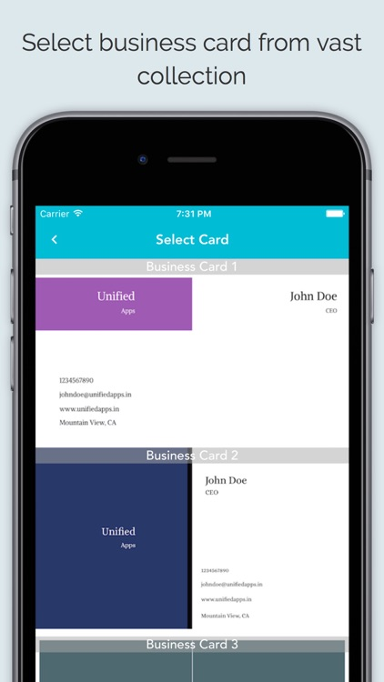 Business Card Maker App By Sagar Joshi - Business card template app
