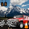 Driving test hill car racing to chase speed on ice and car parking best 3d racing car game of 2016 & 2015 help to get license.