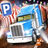 Amusement Park Fair Ground Circus Trucker Parking Simulator