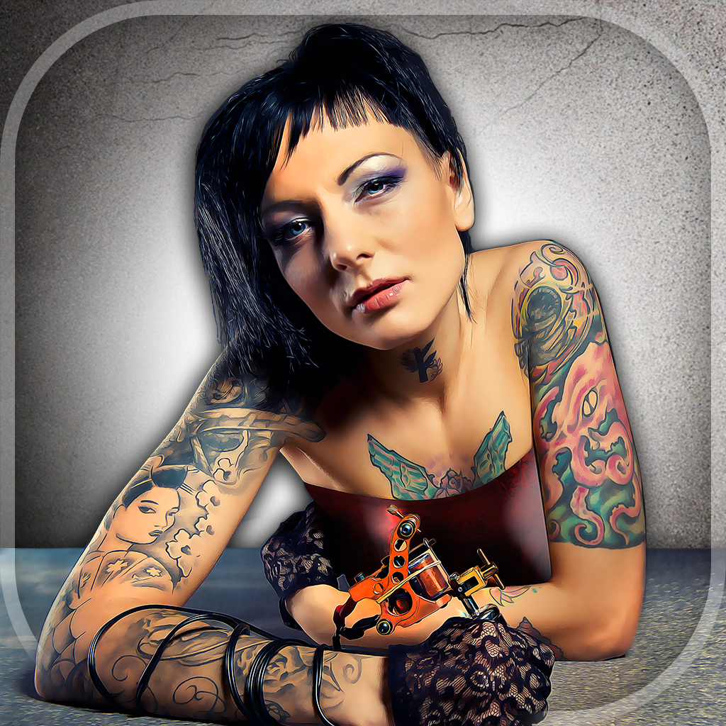 Tattoo edit photo online