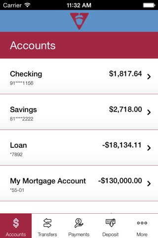 VCNB Mobile Banking screenshot 3