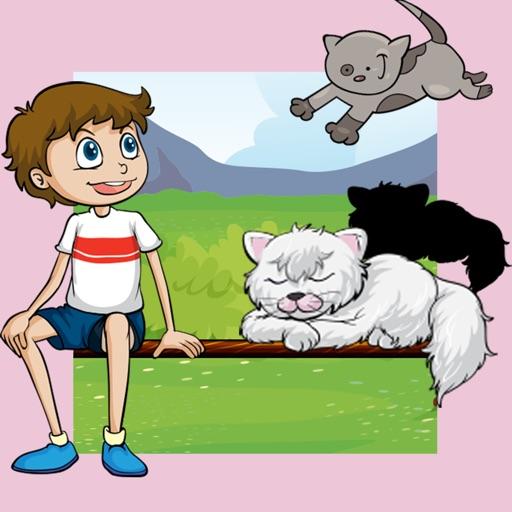 animaux enfants jeux b b chats kitty app pour de jeunes enfants coloration livres puzzle. Black Bedroom Furniture Sets. Home Design Ideas