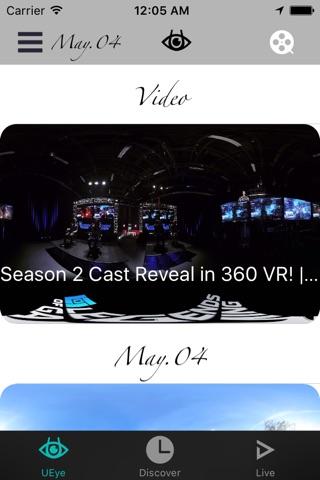 UeyeVR screenshot 1