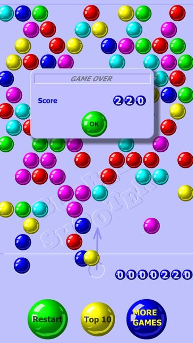 Screenshot of Bubble Shooter Classico4