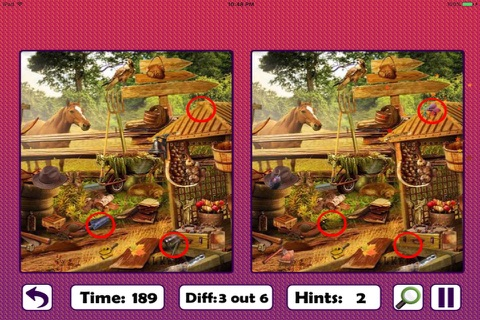 Free Hidden Objects: Spot The Difference screenshot 2