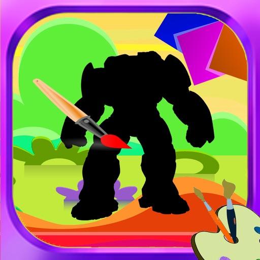 Coloring Book Iron Man Cartoon Edition iOS App