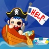 Pirate Boy Coloring Book - All In 1 Adventures & treasure coloring pages Draw, Paint And Color Games HD For Kid