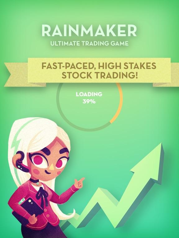 Rainmaker: Ultimate Trading Game на iPad