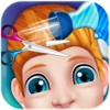 Kids hair Salon makeover and Dress up - barber shop - famous hair style game