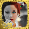 Efectos de color en la foto creador del collage - blanco y negro editor de imágenes
