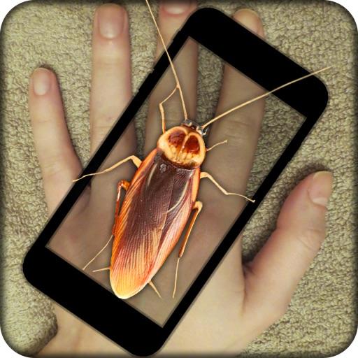 Cockroach Hand Funny Prank iOS App