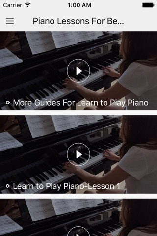 Piano Lessons For Beginner-Learn to play piano screenshot 1