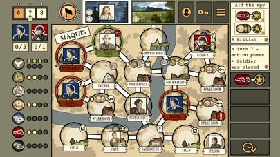 Screenshot #8 for Maquis Board Game