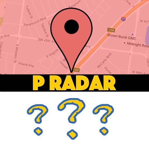 P Radar - Map for Pokemon Go Scan iOS App
