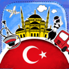 Turco diccionario - ibro de frases gratuito sin conexión con fichas educativas y voz de un hablante nativo