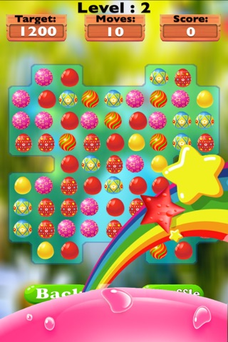 Sweet Eggs Candy Mania-The best match three puzzle game for kids and adults screenshot 2