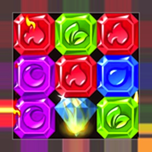 Jewel Ruby Gem Mania: addictive match 3 puzzle splash games