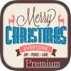 веселых рождественских открыток 2016- Премиум