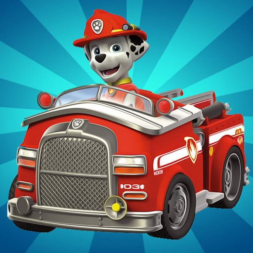 Paw Fire Truck Rescue - Paw Patrol Version iOS App