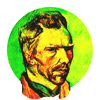 Vincent Van Gogh picture art symbolism and fauvism neo-gog visual post-impressionism and modernist expressionism pointillism exhibition